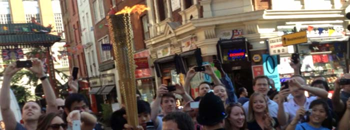 woohoo – the torch!